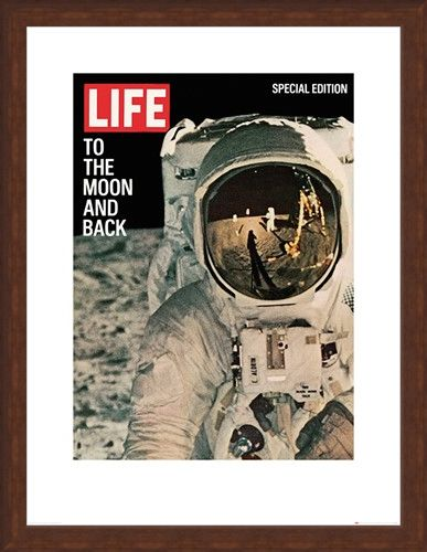 Framed Framed Life Cover - To the Moon and Back - Time Life