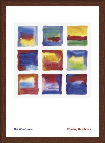 Framed Framed Chasing Rainbows - Nel Whatmore