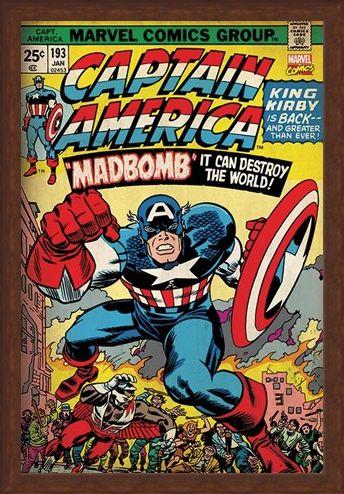 Framed Framed Madbomb! - Captain America