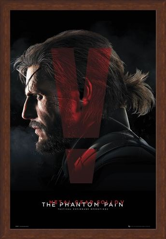 Framed Framed Metal Gear Solid Presents - The Phantom Pain