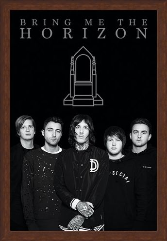 Framed Framed Bring Me The Horizon - That's The Spirit Guys!