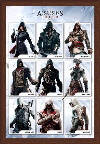 Framed Framed The Brotherhood Evolution - Assassins Creed