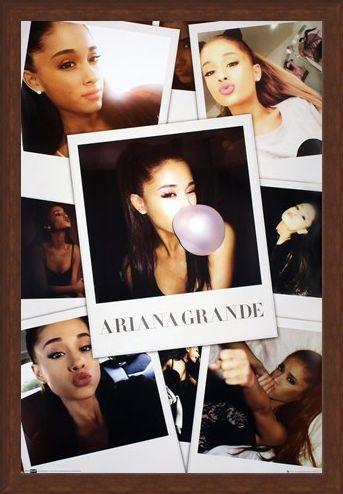 Framed Framed A Rising Star - Ariana Grande