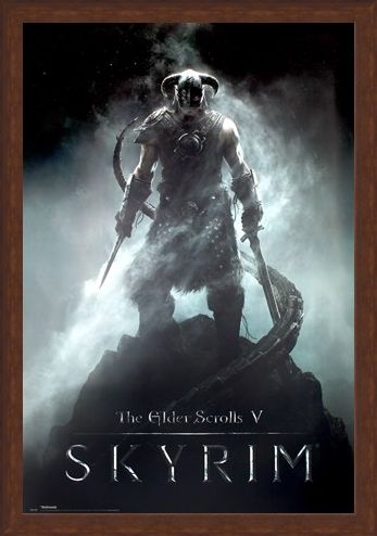 Framed Framed Are You A Dragonborn? - Skyrim