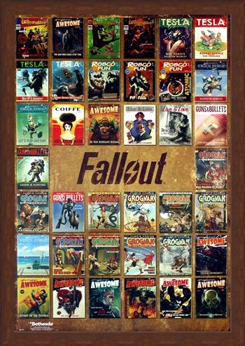Framed Framed Magazine Compilation - Fallout