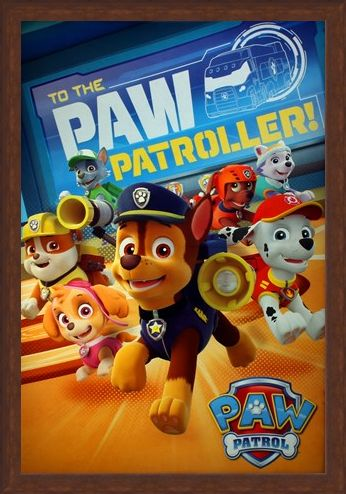 Framed Framed To The Paw Patroller - Paw Patrol