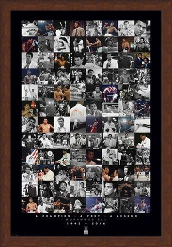 Framed Framed A Commemorative Montage - Muhammad Ali