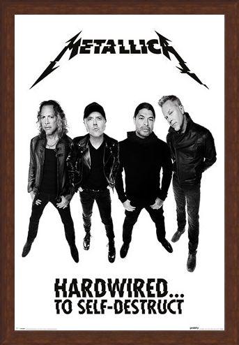 Framed Framed Hardwired To Self-Destruct - Metallica