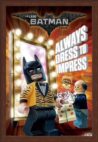 Framed Framed Always Dress To Impress - The Lego Batman Movie