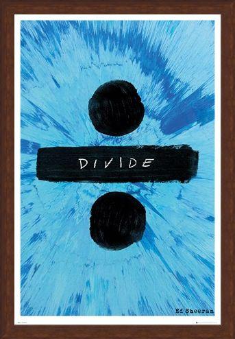 Framed Framed Divide - Ed Sheeran