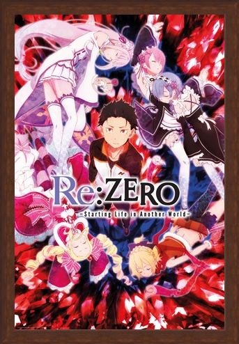 Framed Framed Key Art - Re Zero