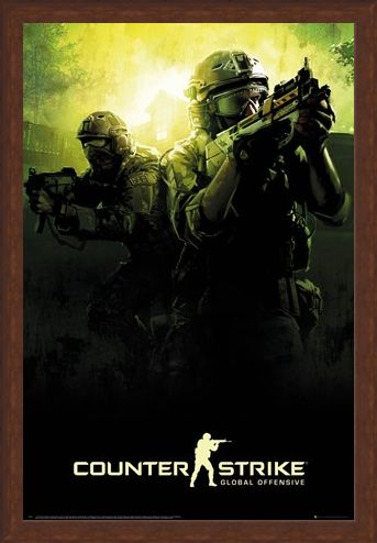 Framed Framed Global Offensive Team - Counter Strike