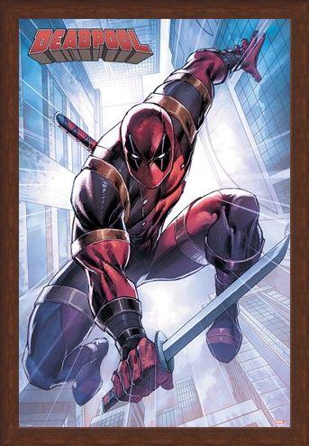 Framed Framed Action Pose - Deadpool