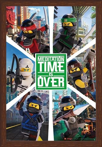Framed Framed LEGO® Ninjago Movie Six Ninjas - LEGO® Ninjago Movie