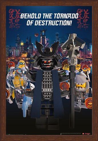 Framed Framed Garmadon Destruction - LEGO® Ninjago Movie
