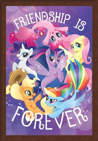 Framed Framed Friendship is Forever - My Little Pony Movie