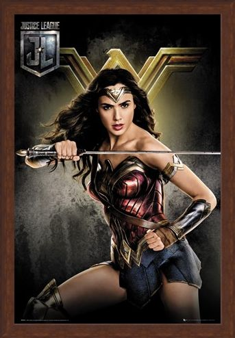 Framed Framed Wonder Woman - Justice League