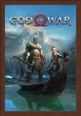Framed Framed To Lands Unknown - God Of War