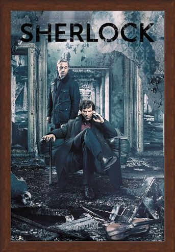 Framed Framed Destruction - Sherlock