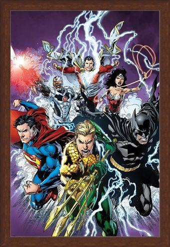 Framed Framed Strike! - Justice League of America