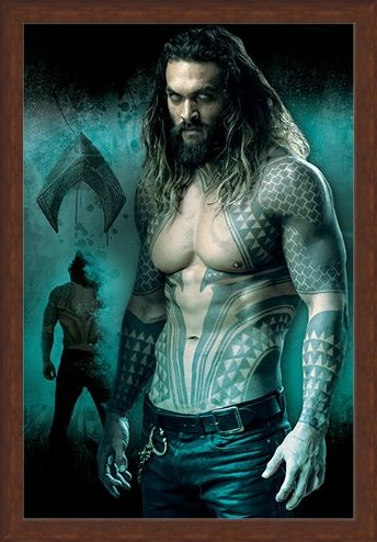 Framed Framed Aquaman - Justice League