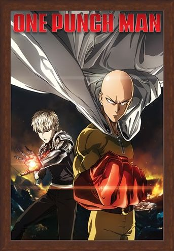 Framed Framed Destruction - One Punch Man