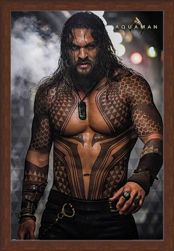 Framed Framed Aquaman Pin-Up - DC Comics