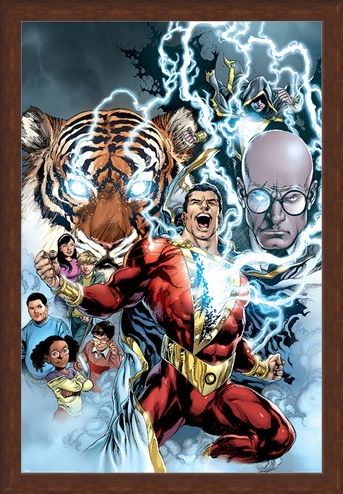 Framed Framed The Power of Shazam - Shazam