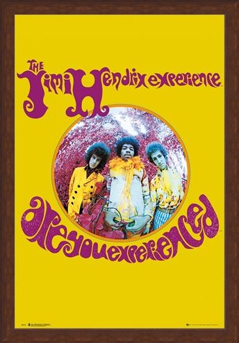 Framed Framed Are You Experienced - Jimi Hendrix Experience