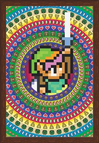 Framed Framed Collectables - The Legend Of Zelda