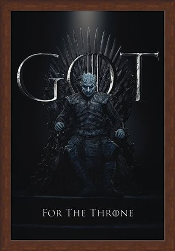Framed Framed The Night King For The Throne - Game Of Thrones