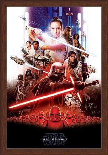 Framed Framed Epic Montage! - Star Wars: The Rise of Skywalker