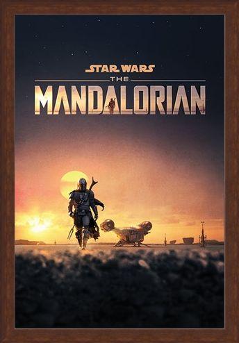 Framed Framed The Mandalorian Dusk - Star Wars