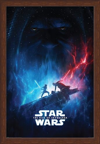 Framed Framed The Rise of Skywalker Galactic Encounter - Star Wars