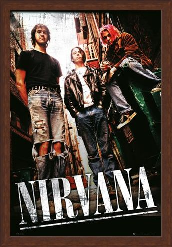 Framed Framed Teen Spirit - Nirvana
