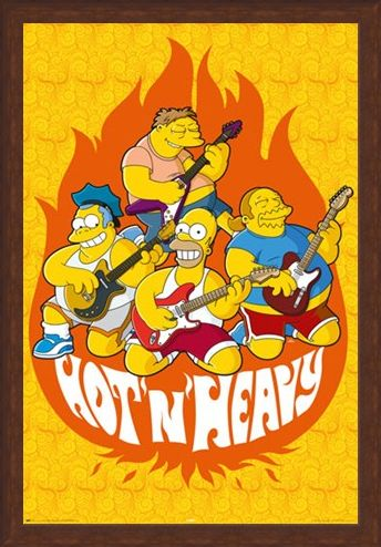 Framed Framed Hot and Heavy - The Simpsons