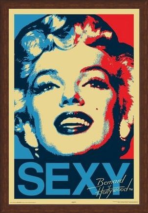 Framed Framed Sexy - Marilyn Monroe