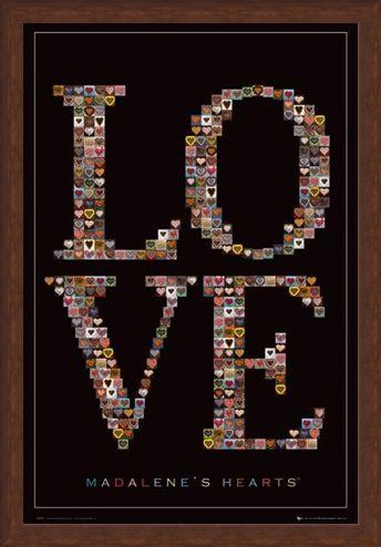 Framed Framed Love - Madalene's Hearts