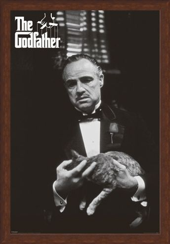 Framed Framed Marlon Brando as Vito Corleone - The Godfather