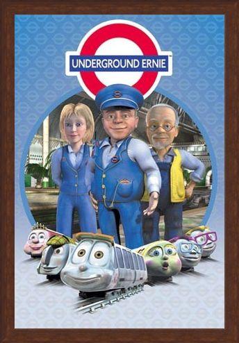 Framed Framed Underground Ernie Character Collection - Underground Ernie