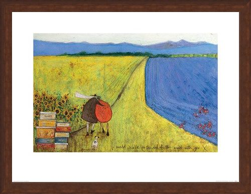 Framed Framed I Would Walk To The End Of The World With You - Sam Toft