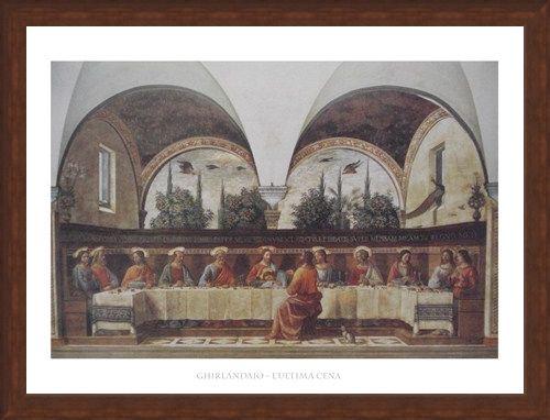 Framed Framed The Last Supper - Domenico Ghirlandaio