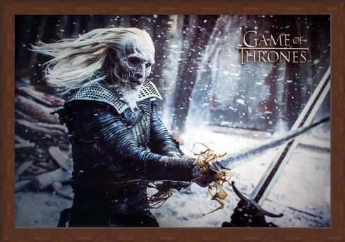 Framed Framed The White Walkers Of Westeros - Game Of Thrones