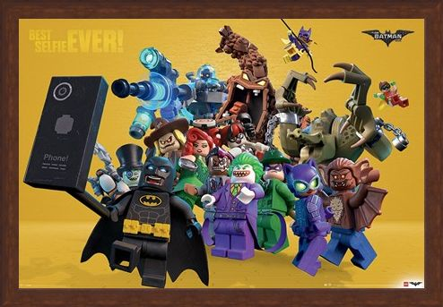Framed Framed Best Selfie Ever - The Lego Batman Movie
