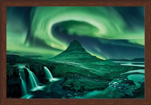 Framed Framed The Northern Lights - Aurora Borealis