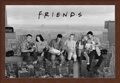 Framed Framed Skyscraper - Friends