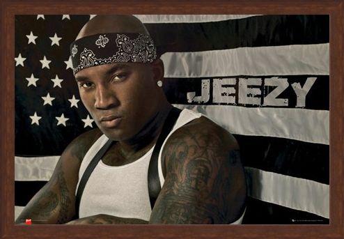 Framed Framed Hustlerz Ambition - Young Jeezy