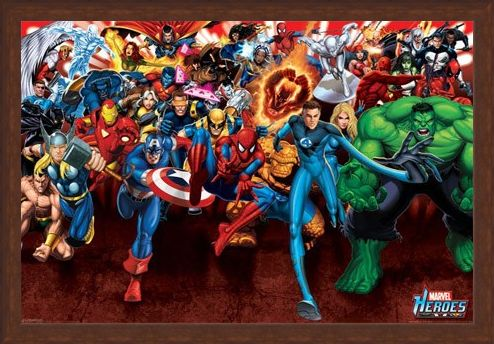 Framed Framed Attack! - Marvel Heroes
