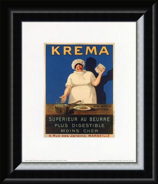 Framed Framed Krema - Leonetto Cappiello