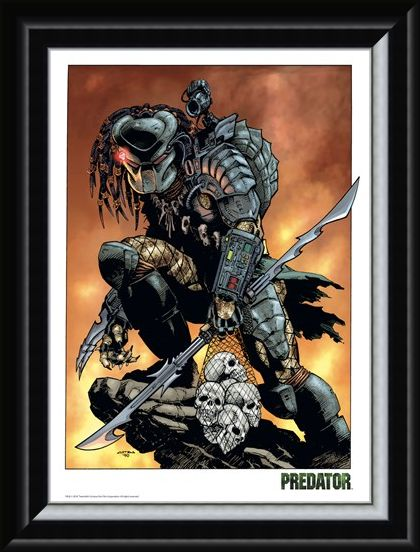 Framed Framed Rock - Predator